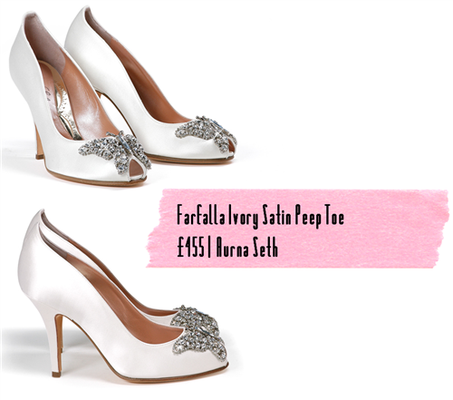 Favourite Finds ivory wedding shoes UK Wedding Blog Whimsical