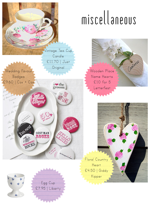 Wedding Favour Ideas Favourite Finds UK Wedding Blog Whimsical