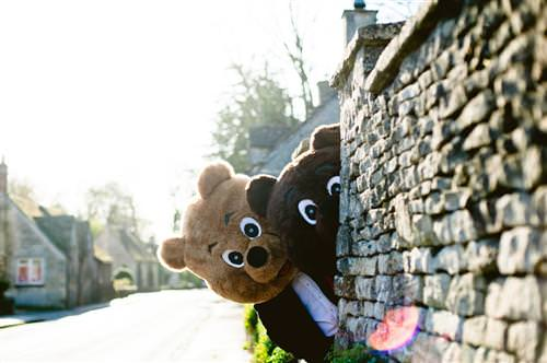 Lovely Bear Engagement Photos